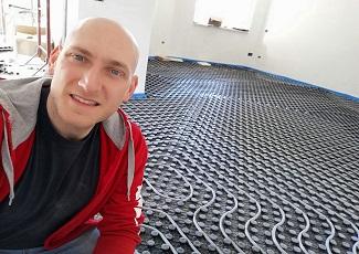 Radiante a pavimento Brasstech